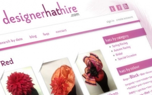 Designer Hat Hire Website